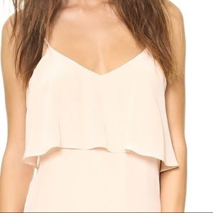 Rory Beca Nicol top in Frosty blush